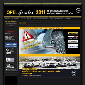 Opel Gombos (2011)